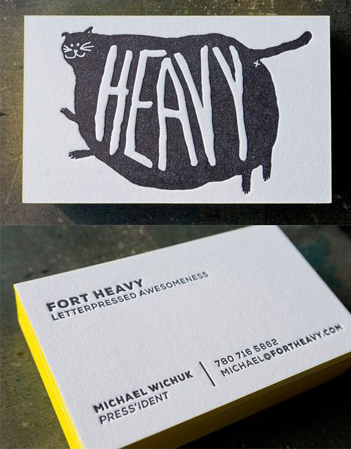 awesome business cards design idea