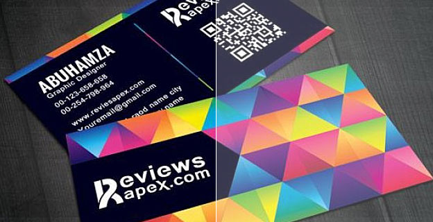 business cards color shift