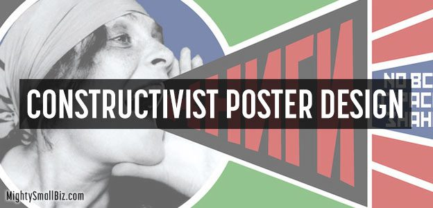 constructivist poster design ideas