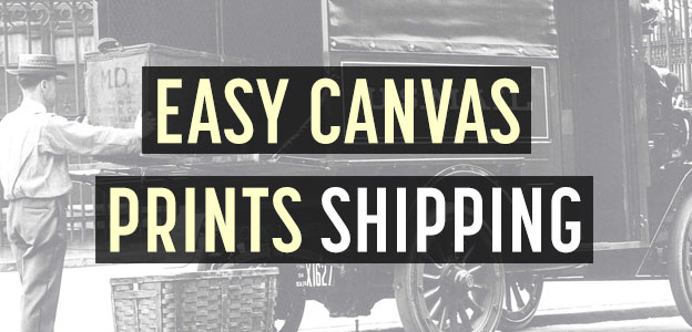 easy canvas prints shipping info