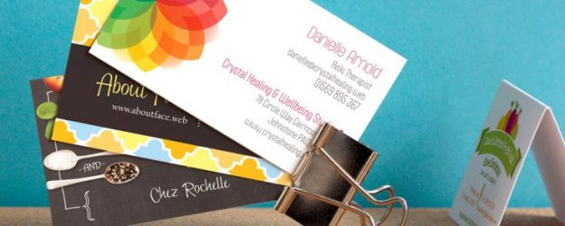 free delivery business cards