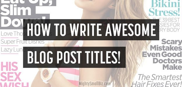 how write blog post titles seo