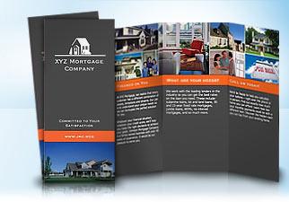 sample brochure vistaprint