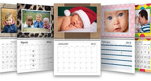 sample vistaprint calendars