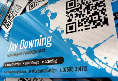 use qr code business cards