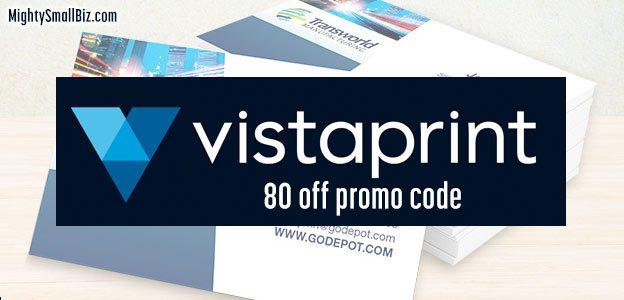 Vistaprint Promo Code 80 Off