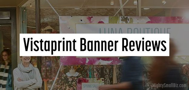 vistaprint banner reviews