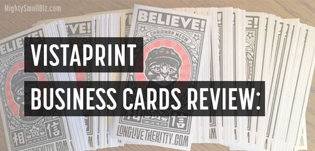 My Vistaprint Business Cards Review | Check Out My Cards!