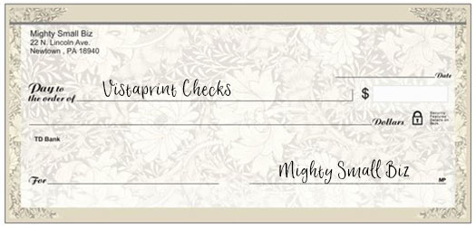 vistaprint checks design floral2