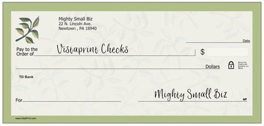 vistaprint checks design floral