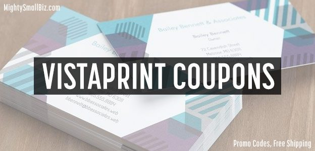 11 vistaprint coupons free shipping 1 promo code now 2018 vistaprint coupons reheart Image collections