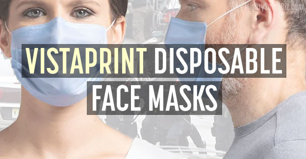 vistaprint disposable masks