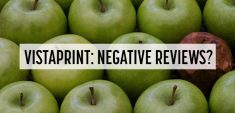 vistaprint negative reviews