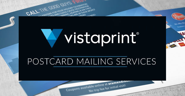 vistaprint postcard mailing