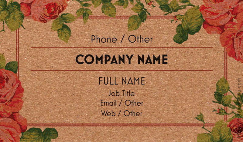 vistaprint recycled business cards