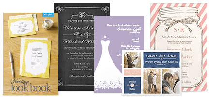 vistaprint wedding free samples