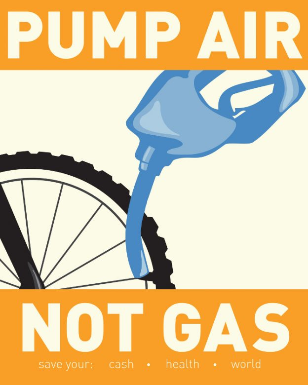 wpa poster design idea gas