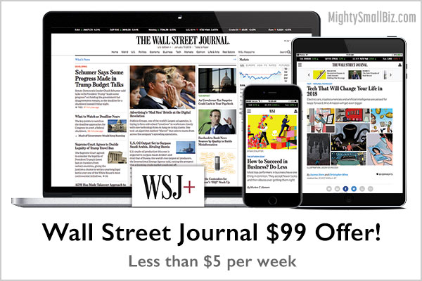 wall street journal 99 offer